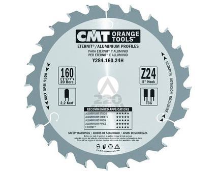 Диск пильный твердосплавный CMT Y284.160.24H