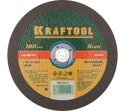 Круг отрезной KRAFTOOL 36250-180-1.6
