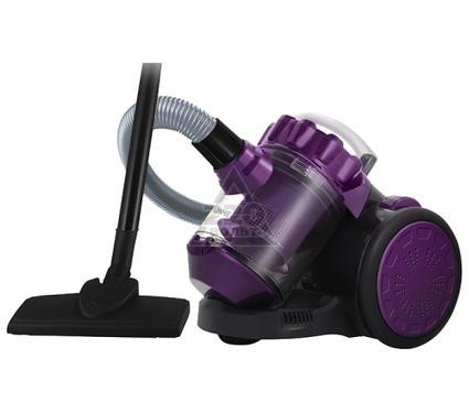 Пылесос LUMME LU-3209 черный/фиолетовый