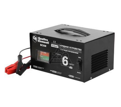 Устройство зарядное QUATTRO ELEMENTI BC6M