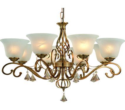 Люстра ARTE LAMP A8391LM-8PB