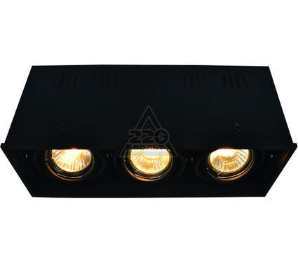 Светильник встраиваемый ARTE LAMP A5942PL-3BK