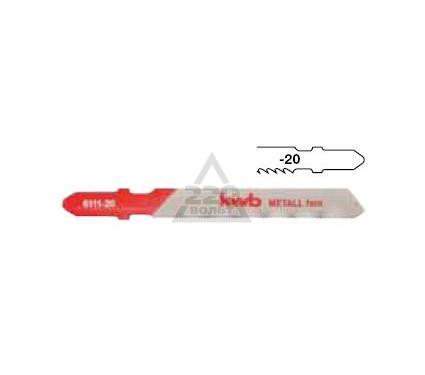 Пилки для лобзика KWB 6113-20