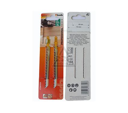 Пилки для лобзика KWB 6232-20