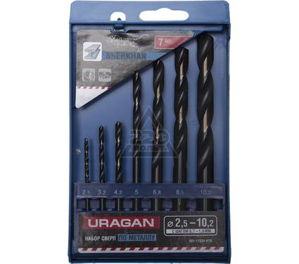 Набор сверл URAGAN 901-11539-H7R