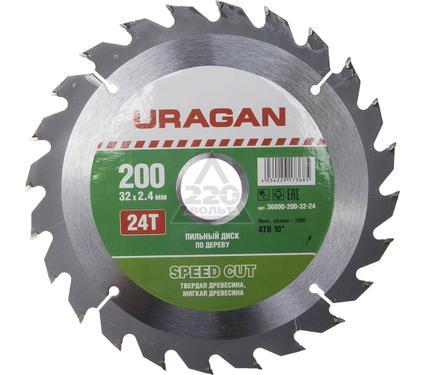 Диск пильный твердосплавный URAGAN 36800-200-32-24