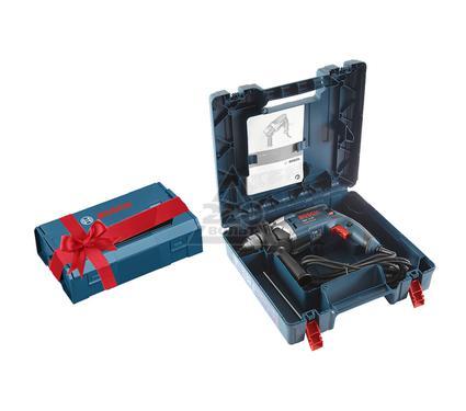 Дрель ударная BOSCH GSB 16 RE  (500) + ящик L-Boxx Mini