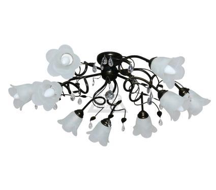 Светильник настенно-потолочный АВРОРА Флора 10043-9C