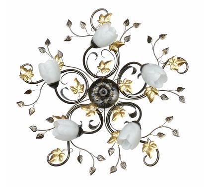 Светильник настенно-потолочный АВРОРА Флоренция 10114-5C