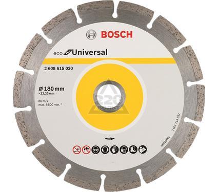 Круг алмазный BOSCH ECO Universal Ф180-22мм