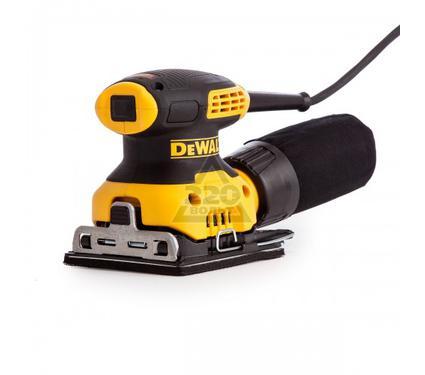 Машинка шлифовальная плоская (вибрационная) DEWALT DWE6411-QS