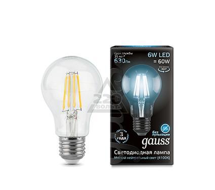 Лампа светодиодная GAUSS 102802206