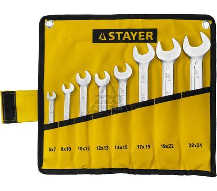 Набор ключей STAYER 27035-H8