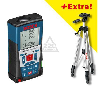 Дальномер лазерный BOSCH GLM 150 + ШТАТИВ