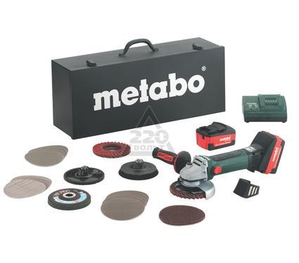 УШМ (болгарка) METABO W 18 LTX 125 INOX аккумуляторная