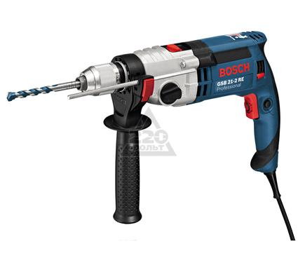 Дрель ударная BOSCH GSB 21-2 RE Professional L-BOXX