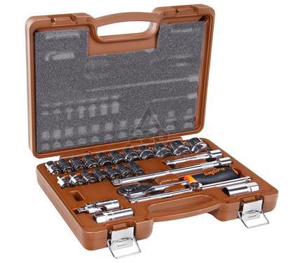 Набор торцевых головок с принадлежностями, 25 предметов OMBRA 911225