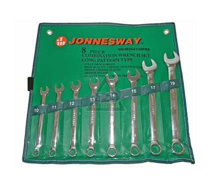 Набор комбинированных гаечных ключей в чехле, 8шт. JONNESWAY W264108PRS