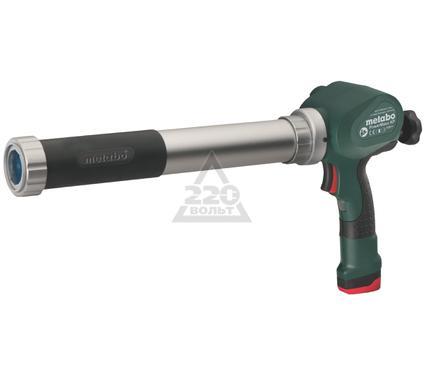 Аккумуляторный пистолет для герметика METABO PowerMaxx KPA 1.5Ач
