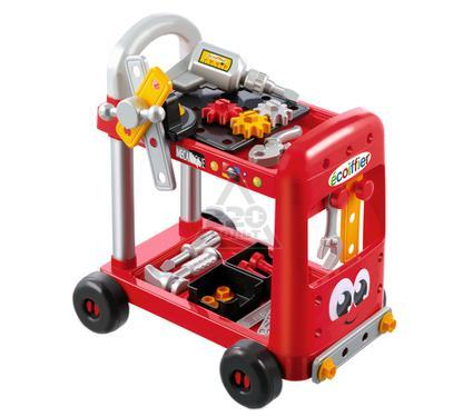 Игрушка детская SMOBY Тележка с инструментами  31 предмет, 43*30,5*44,7 см