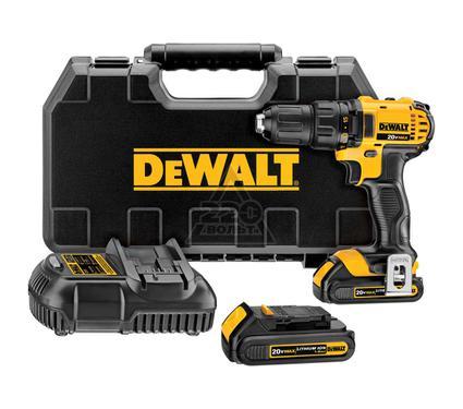 Дрель аккумуляторная DEWALT DCD780C2
