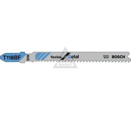 Пилки для лобзика BOSCH T118BF