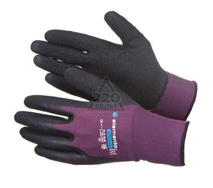 Перчатки ПВХ ELEMENTA Prime Crinkle Latex Nylon