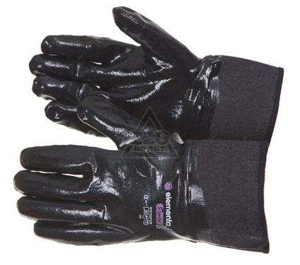 Перчатки нитриловые ELEMENTA Expert Black Crystal Guard