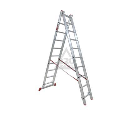 Лестница алюминиевая VIRA Rus 2х10