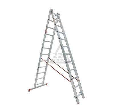 Лестница алюминиевая VIRA Rus 2х12
