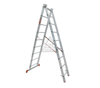 Лестница алюминиевая VIRA Rus 2х9