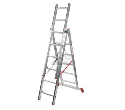 Лестница алюминиевая складная VIRA Rus 3х6