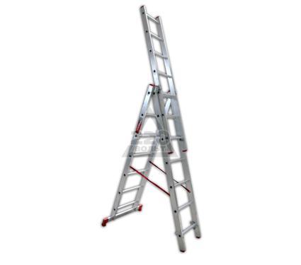 Лестница алюминиевая 3 х секционная VIRA Rus 3х7