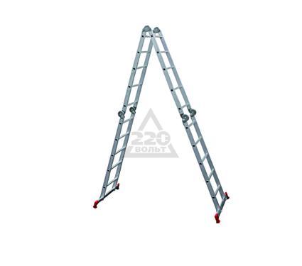 Лестница алюминиевая складная НОВАЯ ВЫСОТА 4х5