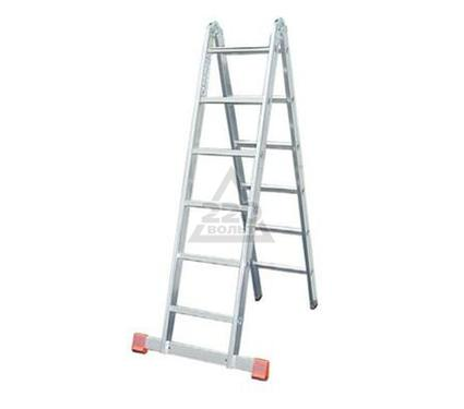 Лестница алюминиевая складная НОВАЯ ВЫСОТА 2х5