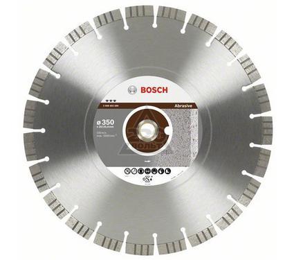 Круг алмазный BOSCH Best for Abrasive  300 Х 20/25.4 сегмент