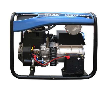 Бензиновый генератор SDMO 7500 E XL C