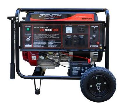 Бензиновый генератор ZENITH ZH7000DXE