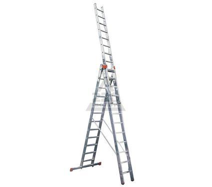 Лестница алюминиевая складная KRAUSE TRIBILO 3х10