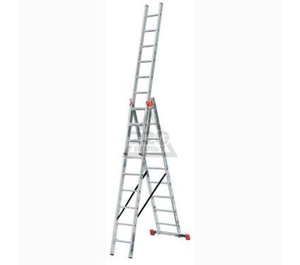 Лестница алюминиевая складная 3 х секционная KRAUSE TRIBILO 3х14