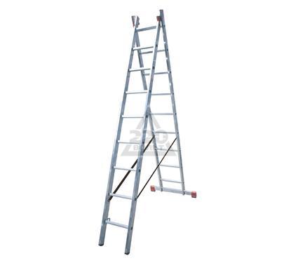 Лестница алюминиевая складная KRAUSE DUBILO 2х9