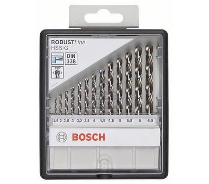 Набор сверл BOSCH Robust Line HSS-G 13 шт.