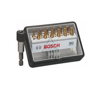 Набор бит BOSCH Robust Line Max Grip Tx 25 мм, 12 шт.