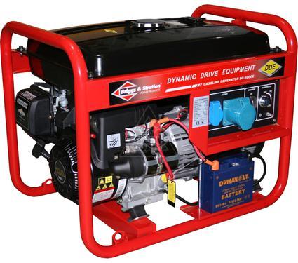 Бензиновый генератор DDE BG6000E