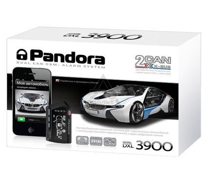 Сигнализация PANDORA De Luxe 3900 dual can