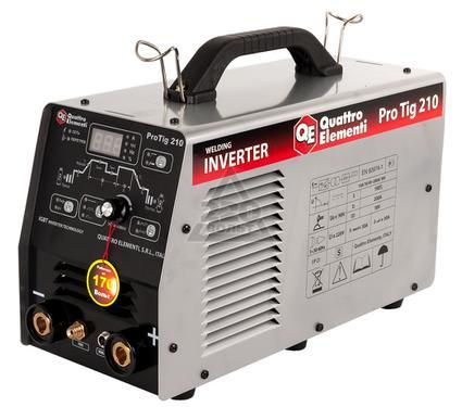 Сварочный инвертор QUATTRO ELEMENTI Pro Tig 210