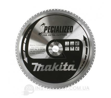 Круг пильный твердосплавный MAKITA 305 X 78 X 25.4 по металлу