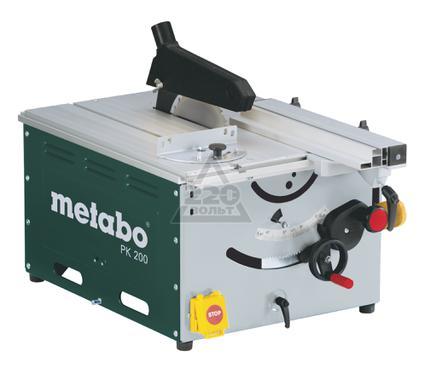 Станок циркулярный METABO PK 200