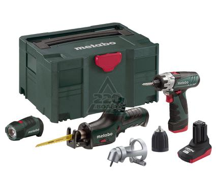 ����� METABO Combo Set 3.1 10.8� LiION: BS+ASE+LED+Angle+1x1.5��+1x4.0��