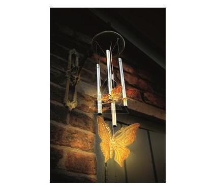 Светильник уличный на солнечных батареях GARDMAN Бабочки 18557